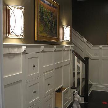 Taupe Walls, Traditional, entrance/foyer