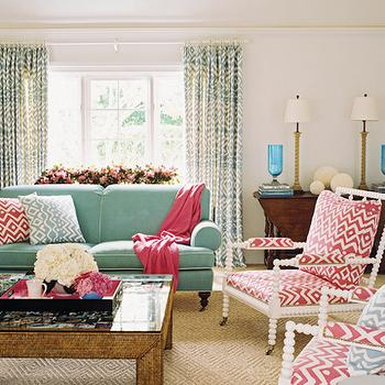 Perfect Teal Sofa