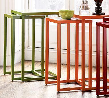 Charming Various Colors Natalie Nesting Tables. Potterybarn.com
