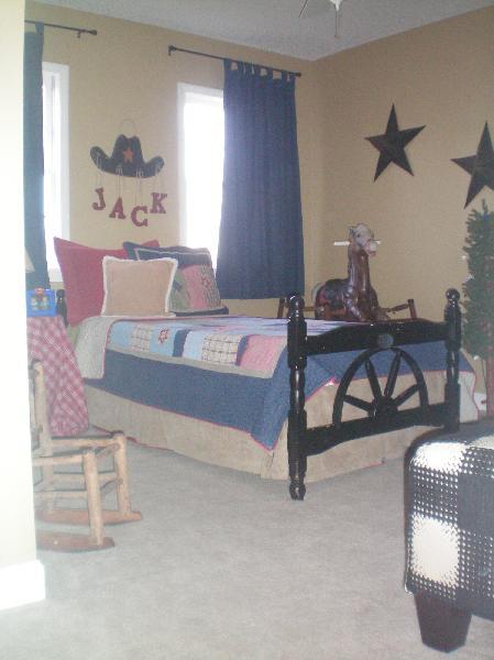 Cowboy room for Cowboy bedroom ideas