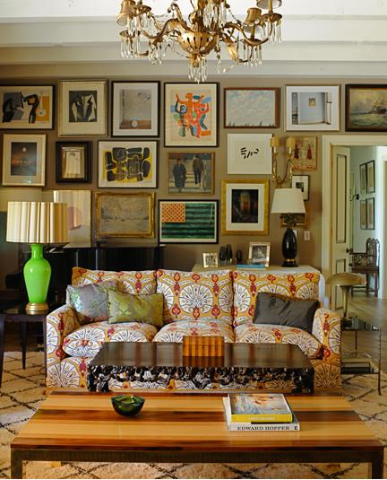 Superbe Patterned Sofa