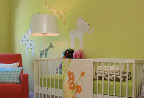 Green Nursery Paint Colors - Contemporary - nursery - Benjamin Moore ...
