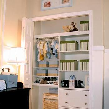 Hidden Changing Table Contemporary Nursery Marsh And