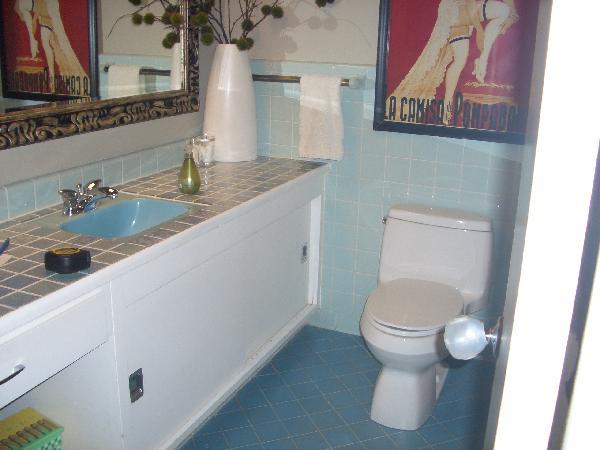 Blue Tile Floor Bathroom Poxtel com. Bathroom Blue Floor