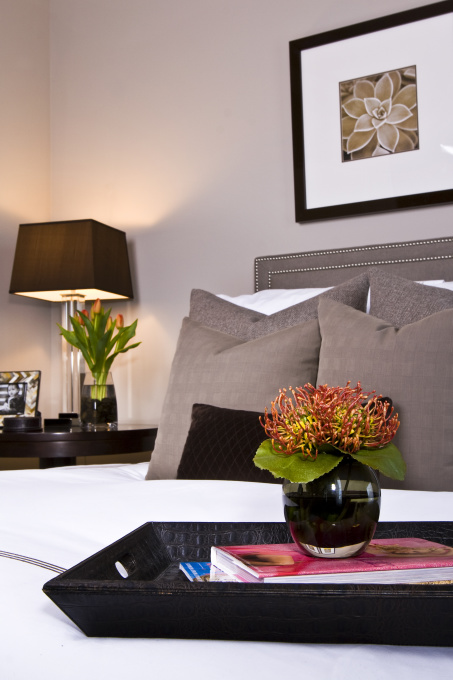Gray Bedroom Contemporary Bedroom Sherwin Williams