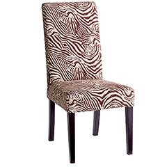 Superieur Brown And White Zebra Dining Chair