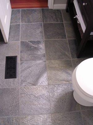charcoal slate tile  modern  bathroom  bellfia, Home decor