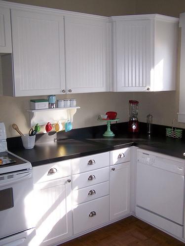 Beadboard Kitchen Cabinets - Cottage - kitchen