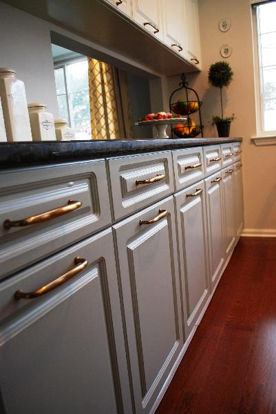 Gray Cabinets Design Ideas