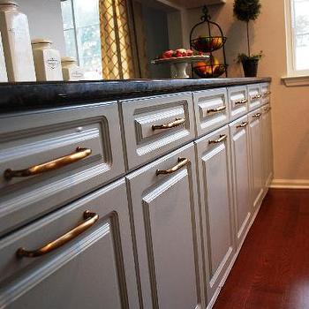 Gray Kitchen Cabinets, Transitional, kitchen, Benjamin Moore Gray Horse, Teresa Meyer Interiors