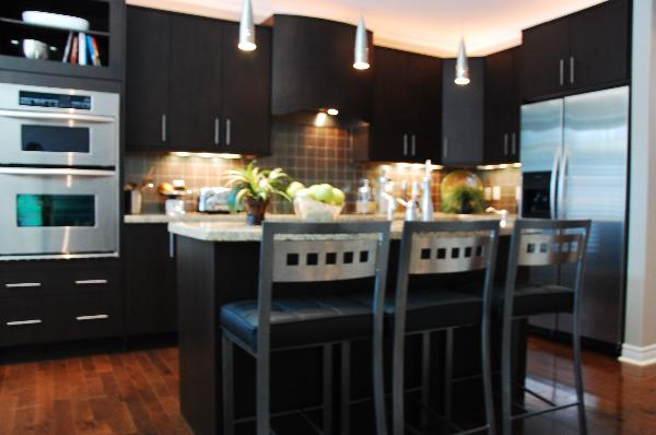 Kitchen for Dark cabinet kitchen ideas