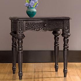 black ornate table - Decorative Tables