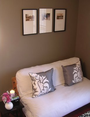 Taupe Paint Contemporary Den Library Office Valspar