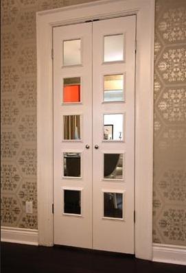 Metallic Wallpaper Contemporary Dining Room Samantha