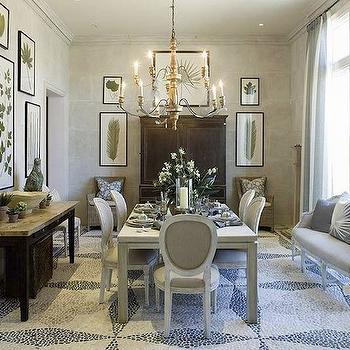 Dining Room Marble Top Console Table Design Ideas