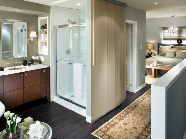 Candace olson contemporary bathroom with benjamin moore for Benjamin moore candice olson colors
