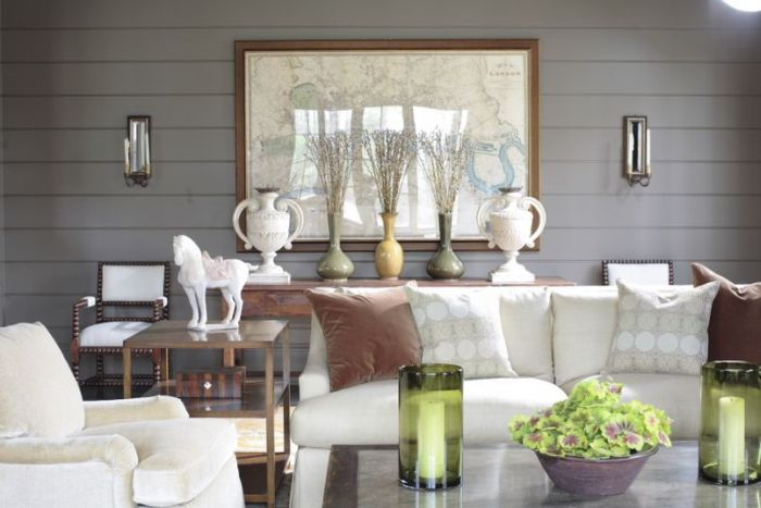 Living room for Living room ideas with wood paneling