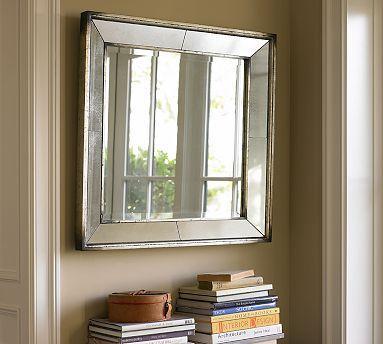 Qvc Floor Mirror >> Williams-Sonoma Home - Five-Panel Beveled Mirror