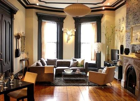 Updated Traditionally Urban Chic Living Room Designs