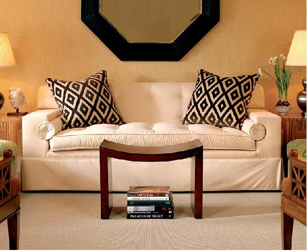 Ivory Tufted Sofa Design Ideas
