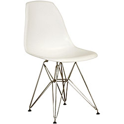 eames plastic molded plastic side chair look 4 less!