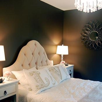 Brown Wall Paint, Transitional, bedroom, Benjamin Moore Clinton Brown