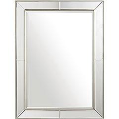 imagination rectangular beveled mirror