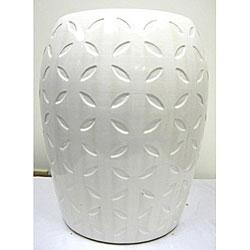 Image result for white garden stool