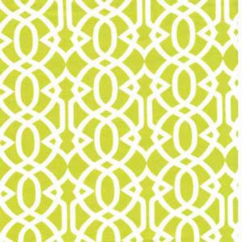 Tonic Living,Garden Trellis, Lime,100% Combed Cotton,Retro futon covers, retro fabric and pillows