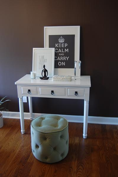 Farmhouse Console Table - Contemporary - bedroom - Benjamin Moore ...