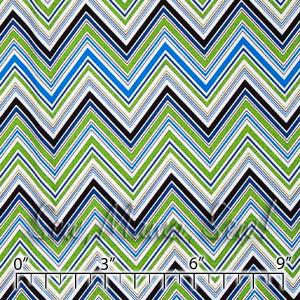 Chevron Blue ~ Darcey