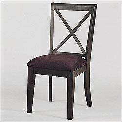 Powell Furniture 502 206 Antique Black Upholstered Game Chair