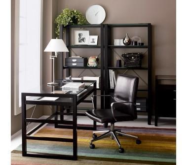 Charming Home Office Desk · Crate U0026 Barrel Drake Desk View Full Size