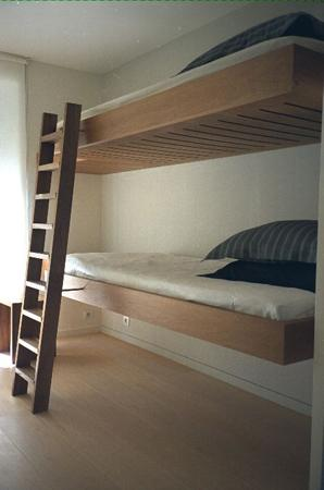 Floating Bunk Beds Modern boy s room