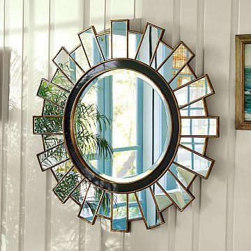 Sunburst mirror look 4 less for Decorative mirrors for less