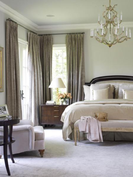 Bedroom Benjamin Moore Acadia White