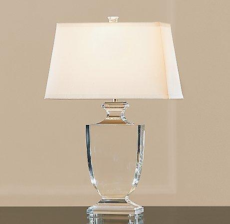 Palladian Urn Lamp Crystal