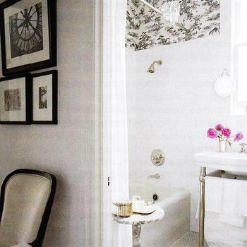 Marble Accent Table. White Bathroom Accent Table Design Ideas