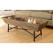Basket Tray Coffee Table Acacia Catalog