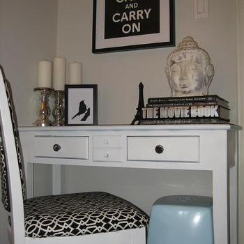 Desk Nook, Transitional, den/library/office, Benjamin Moore Barren Plain, Wallpaper