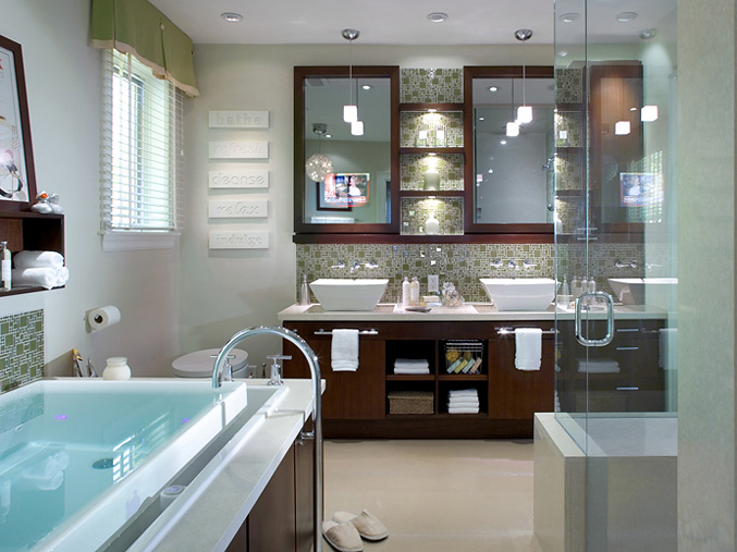 Espresso bathroom vanities design ideas for Espresso bathroom ideas