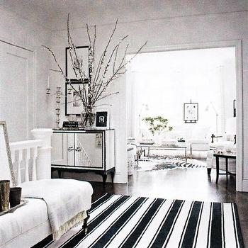 Superieur White And Black Living Room