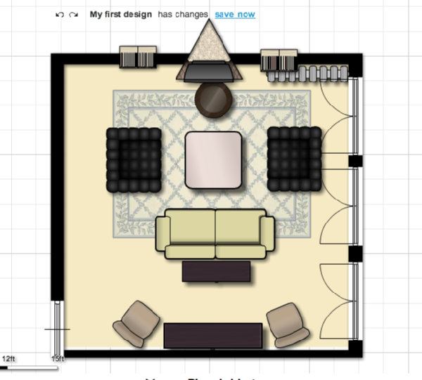 View Post Large Living Room Floor Plan Issues