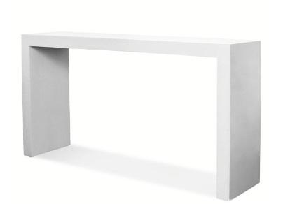 Glossy Lacquer Console Table Look 4 Less