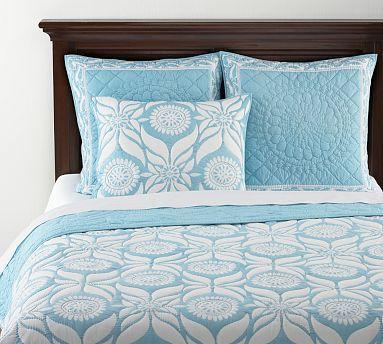 Diamond Stitch Cloudcover Quilt Shams Night Shade