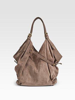 Suede Shoulder Bag 12