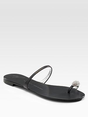 dd75d63c236ba Giuseppe Zanotti - Toe-Ring Sandals - Saks.com