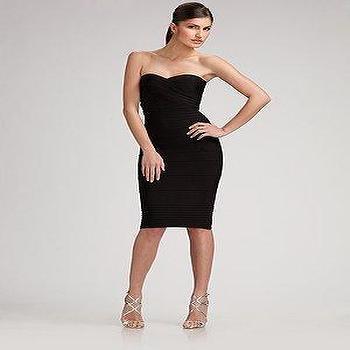 Herve Leger, Strapless Essential Dress, Saks.com