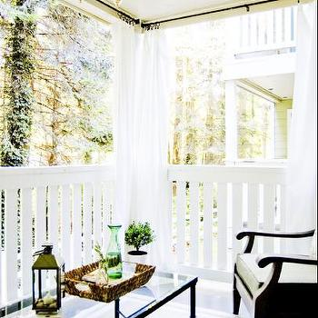 Outdoor Curtains, Traditional, deck/patio
