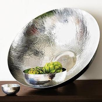 hammered entertaining, bowls, west elm